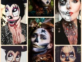 makeup hairstyling halloween thema marifique