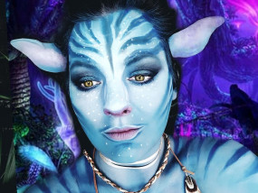 Avatar makeup grime beauty special effect marifique