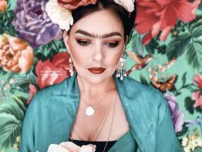 makeup grime frida kahlo special effect marifique