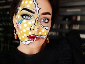 makeup grime beauty special effect marifique Pop Art