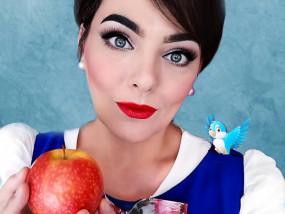 Snow White makeup grime beauty special effect marifique